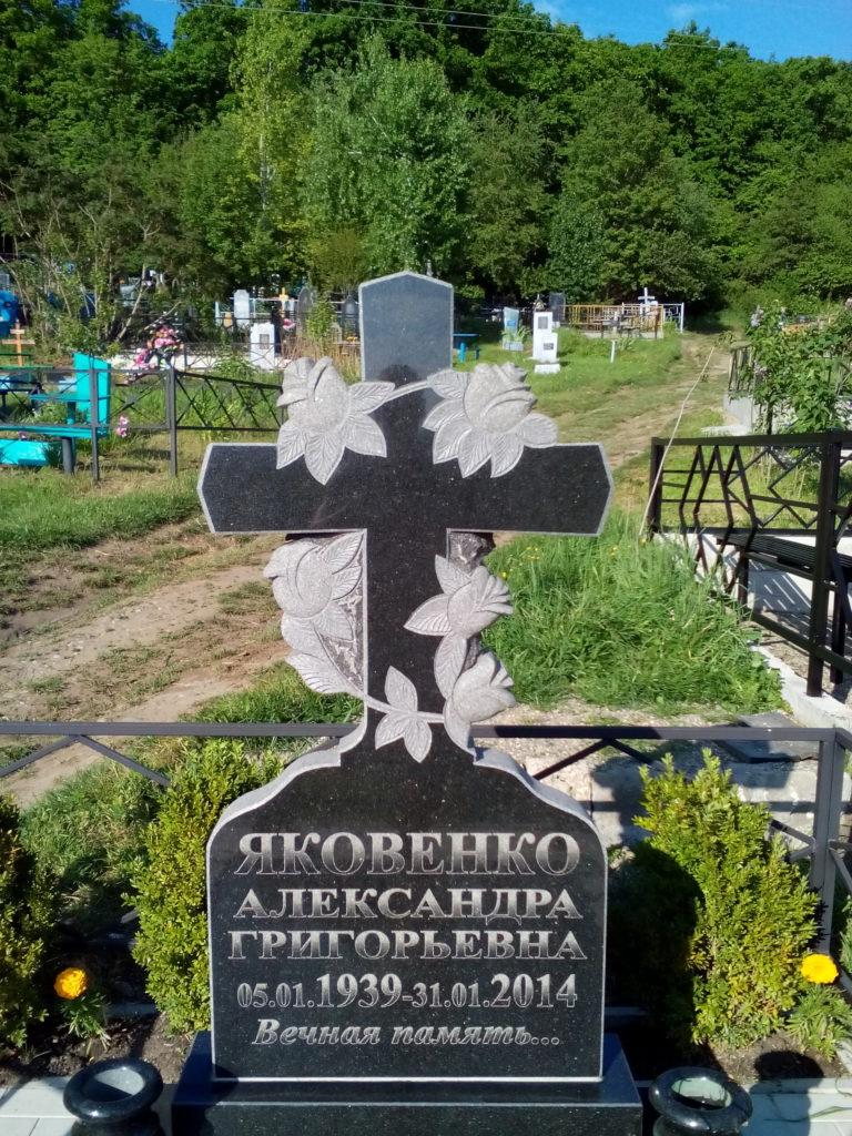 Надгробные памятники в новороссийске гранитная мастерская в москве зеленограде